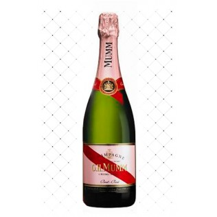 CHAMPAGNE MUMM CORDON ROUGE ROSE 750ML  g