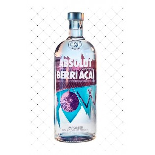VODKA ABSOLUT BERRI AÇAI 1000ML