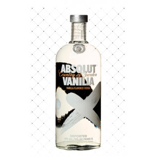 VODKA ABSOLUT VANILIA 1000ML