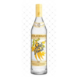 VODKA LET. STOLICHNAYA VANILLA PREMIUM 1000ML g