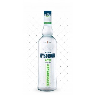 VODKA WYBOROWA RAISKIE APPLE 700ML g