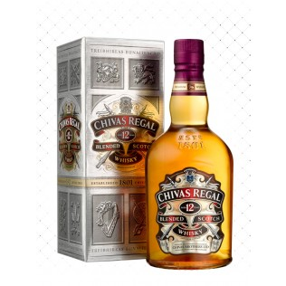 WHISKY CHIVAS REGAL 12 YEARS 750ML