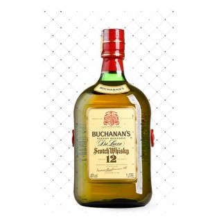 WHISKY BUCHANANS 12 YEARS 1000ML  g