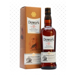 WHISKY DEWARS 12 YEARS 1000ML g