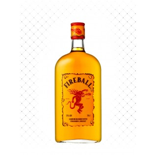 WHISKY FIREBALL CINNAMON & WHISKY 750ML