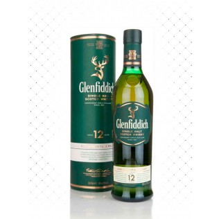 WHISKY GLENFIDDICH SINGLE MALT 12 YEARS 750ML  g