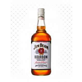 WHISKY JIM BEAM WHITE 1000ML  g