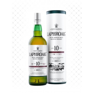 WHISKY LAPHROAIG SINGLE MALT 10 YEARS 750ML  g