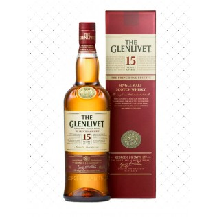 WHISKY THE GLENLIVET 15 YEARS 750ML