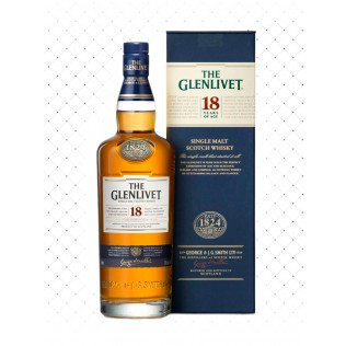 WHISKY THE GLENLIVET 18 YEARS 750ML g